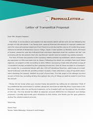 Letter Of Transmittal Sample Get Yout Letter Of Transmittal Proposal To Be Impeccable By Checking 18