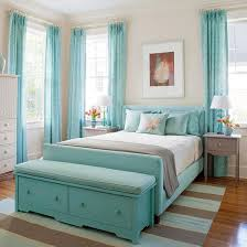 Charming Lovely Turquoise Bedroom Design Ideas