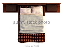 double bed top view. Plain Top Double Bed Isolated Top View Stock Photos U0026  Inside D