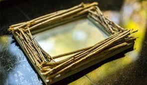 diy rustic twig frame diy rustic decorations crafts with branches diy ideas