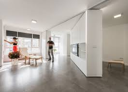 mje house in spain pivoting wall unit