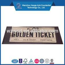 custom roll tickets custom roll design elegance party ticket golden ticket gold foil