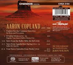 copland orchestral works copland orchestral works 1 ballets suites from billy the kid