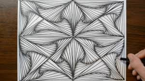 Patterns To Draw Magnificent Pattern Doodle Sketch How To Draw Line Illusions YouTube