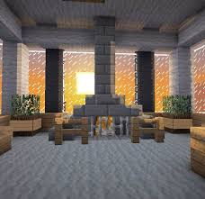 Minecraft PE Fireplace Designs  YouTubeFireplace In Minecraft