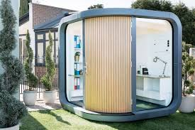 Tiny office Home Tiny Backyard Offices Convene These Tiny Backyard Offices Are The Perfect Place For Productive Work