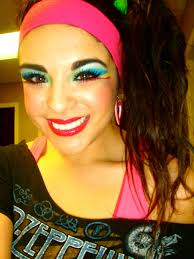 my makeup my photography my dreams my thoughts 80s workout party