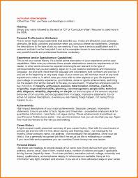 Resume Profile Samples 100 Luxury High Profile Resume Samples Simple Resume Format 67