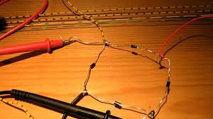 how to make a bridge full wave rectifier 4 diodes