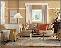 Tan Living Room Simple Inspiration Design