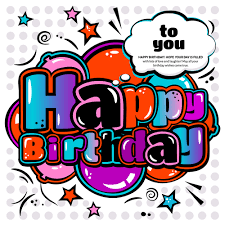 happy birthday design cartoon styles happy birthday design vector 10 vector cartoon