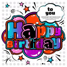 happy birthday design cartoon styles happy birthday design vector 10 vector cartoon