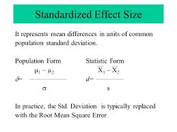 effect size anova empirically based characteristics of effect sizes used in anova j