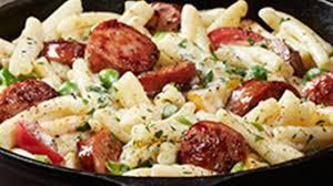 photo of hillshire farm sausage alfredo by hillshire farm brand