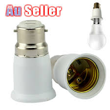 How To Replace A Broken Bayonet Light Fitting Details About B22 To E27 Extender Socket Light Bulb Q5 Plug Lamp Holder Adapter Lampholder