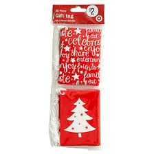 Folding Gift Tags Target 20 Pack Gift Tags 5 X 7cm Timeless