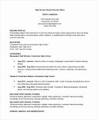 Resume Profile For College Student College Student Resume Template Word New 8 Sample Resumes In