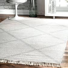 nuloom trellis rug diamond wool ivory handmade flat woven fancy cotton