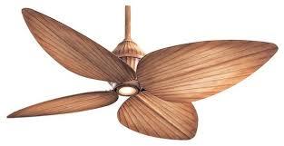 minka aire gauguin 4 blade 1 light ceiling fan bahama beige blades