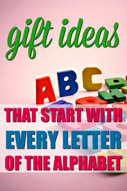 the ultimate list of gifts that start with the letter alphabet grab bag gift