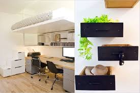 home deco office deco. Home Decoration: Stunning Office Design With Modern Desk And Fascinating Wall Drawer Accessories For Deco O