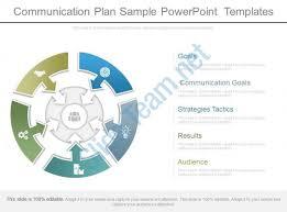 Communication Plan Sample Powerpoint Templates Powerpoint