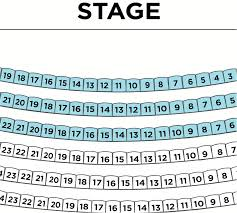 Brown Theater Seating Chart Seating Charts Clarence Brown Theatre