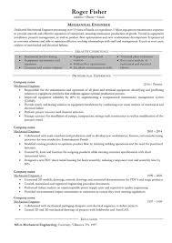Mechanical Engineer Resumee Curriculum Vitae Canada Fresher Doc
