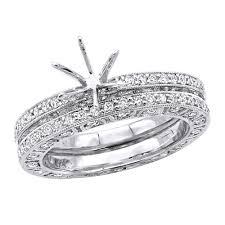 18k Gold Tacori Style Diamond Engagement Ring Mounting Set 1 82ct