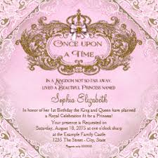 Princess Birthday Invitations Zazzle