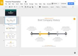 a timeline template how to make a timeline on google slides with templates