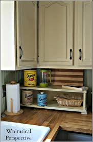 Chalk Paint Kitchen Whimsical Perspective My Chalk Paintar Kitchen Cabinets The Update
