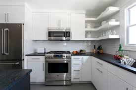 Delighful Simple White Kitchen Clean Lines In This Modernkitchen Inside Decorating Ideas