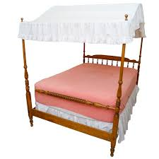 Ethan Allen Full-Size Canopy Bed Frame
