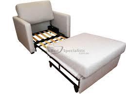 single fold out mattress chair