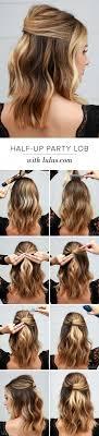 Die Besten 25 Einfache Frisur F R Party Ideen Auf Pinterest