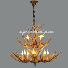 deer horn chandelier deer antler chandelier 8 4 cast cascade candle style rustic lighting fixtures deer antler chandelier plans