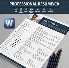 professional resume templates for word 26 word professional resume template free download free