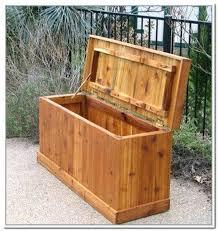 outdoor storage box plans wood