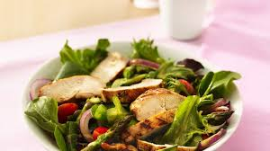 garden salad recipe. Unique Salad Grilled Chicken Garden Salad And Recipe