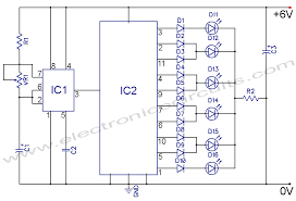 4017 led knight rider circuit diagram electronic circuits led knight rider circuit diagram using 4017 and 555 ic s