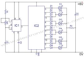 led circuit diagrams the wiring diagram 4017 led knight rider circuit diagram electronic circuits circuit diagram
