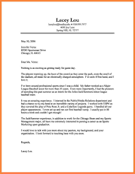Examples Cover Letter Letters Sample Cover Letters For Employment