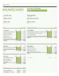 Blank Balance Sheet Format Free Pdf Template Sample