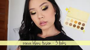 <b>ZOEVA BLANC FUSION</b> • 3 Looks, Review & Swatches - YouTube