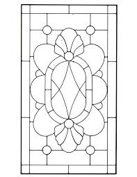 victorian stained glass pattern