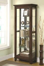 decoration medium size of curio cabinets extra large for console with doors small wall