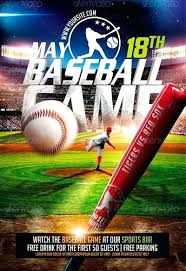 Free Baseball Flyer Template Get Noticed With These Sports Templates Baseball Flyer