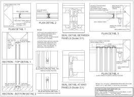 technical detail ultraslim slide pivot door