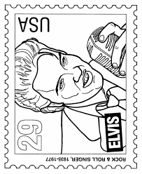 Small Picture Coloring Page Elvis Coloring Pages Coloring Page and Coloring